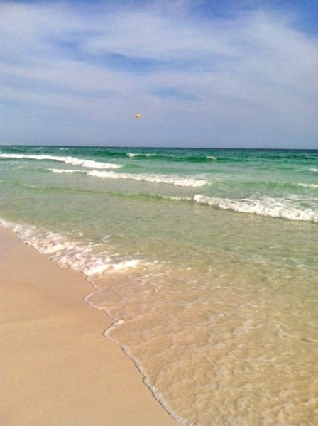 Another beautiful shot of the gorgeous emerald coast!