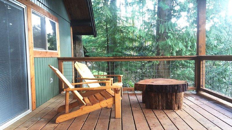 Charming A-Frame Cabin With Spectacular Cascade Mountain Views!!!, casa vacanza a Maple Falls