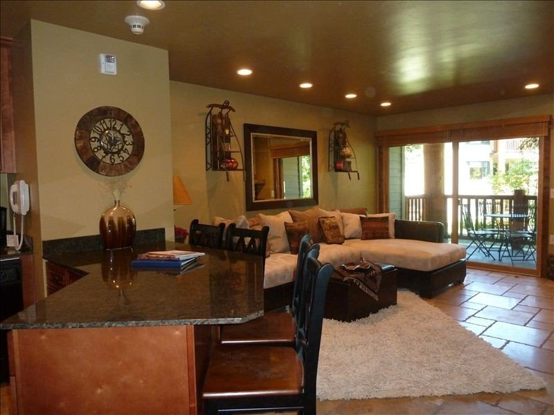 Ski In-Ski Out,Romantic, Slopeside, Ground Floor, Remodeled, holiday rental in Park City