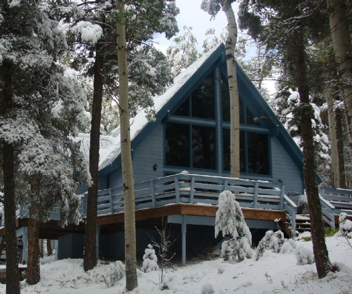 Get away very exclusive and private, vacation rental in Angel Fire