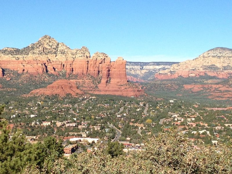 Park at the airport mesa and take in the spectacular views of West Sedona.