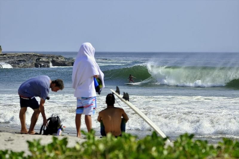 Nica has year round good surf, but peaks March through October