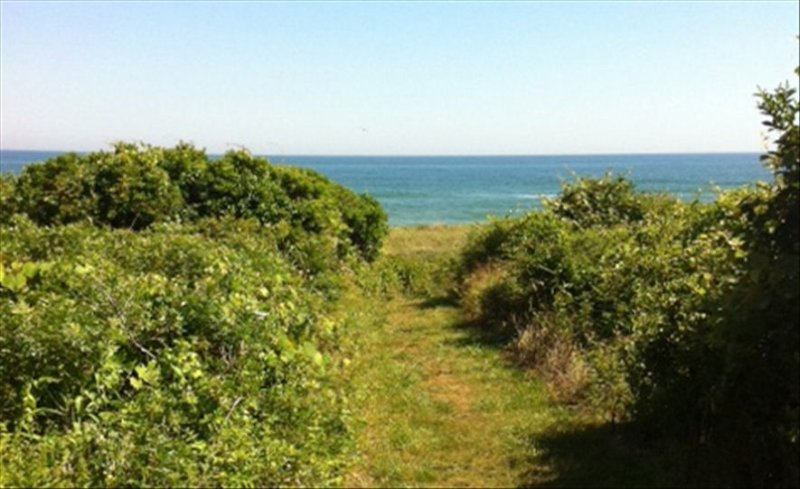 Twin Pond Ocean Front Cottage with Beach Pass, vacation rental in Montauk