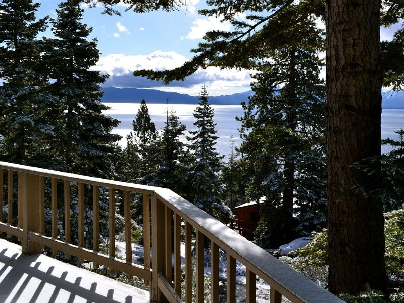Sensational Views Chalet at Meeks Bay!, vacation rental in Tahoma