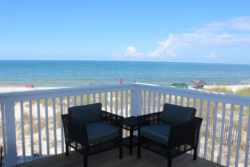 Living Room Deck - Enjoy amazing gulf views and sunsets!!
