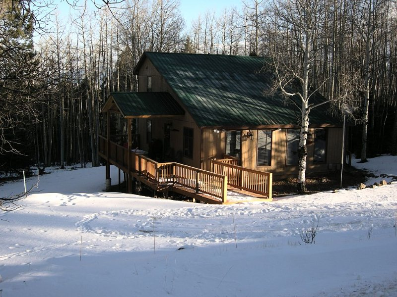 Mountain Cabin, 4 Bedrooms, 2 Baths, Near Golf Course & 5 Minutes To Ski Area, holiday rental in Angel Fire