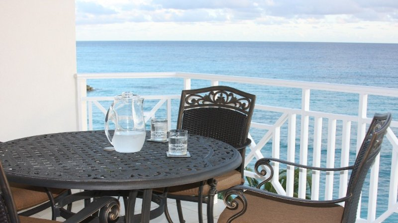 Fully equipped and outfitted, spacious ocean front condo, vacation rental in Christ Church Parish