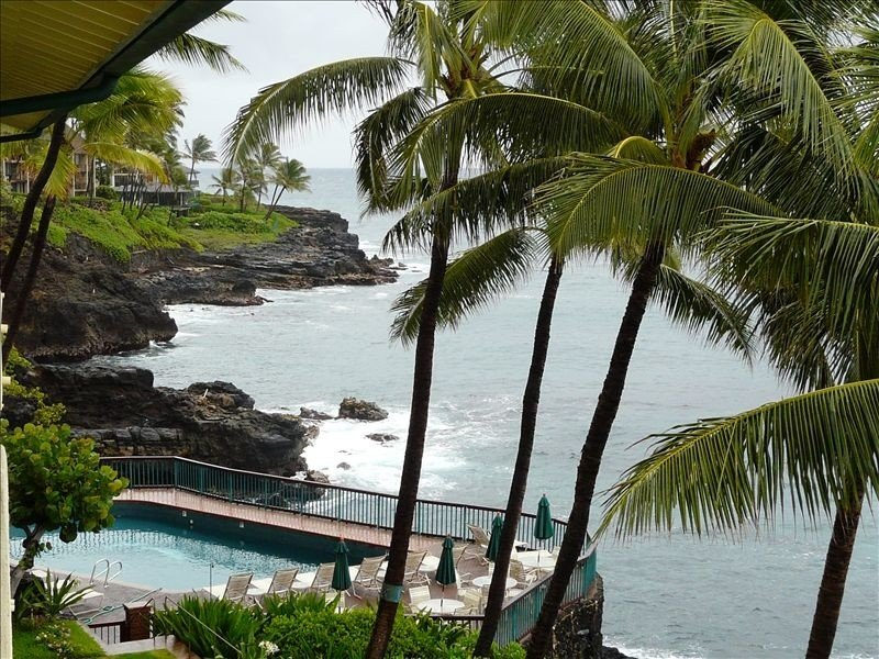 Top Floor,Only the Birds Can See You!Ocean Front,Walk to Beach, holiday rental in Poipu