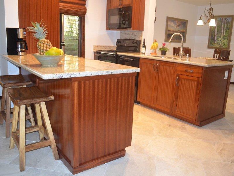 Naturally bright kitchen