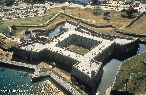 Castillo de San Marcos - Downtown St. Augustine