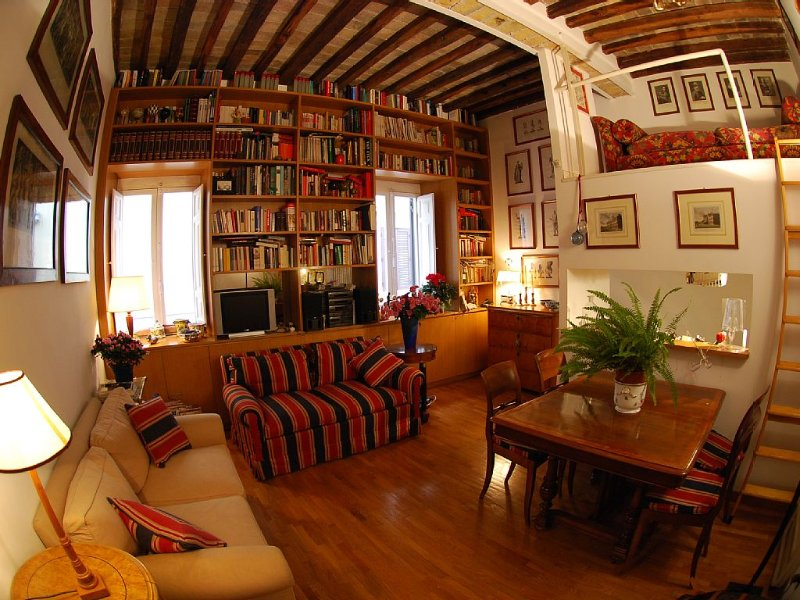 Center Campo Fiori / Navona Luxury Romantic Free Wifi /Cell, Ferienwohnung in Vatikanstadt