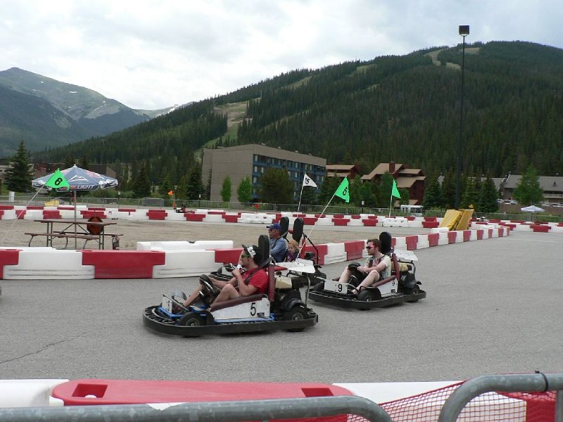 And the go karts are always fun