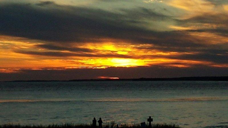 Pouvez-vous dire que nous aimons regarder les couchers de soleil de notre plate-forme?