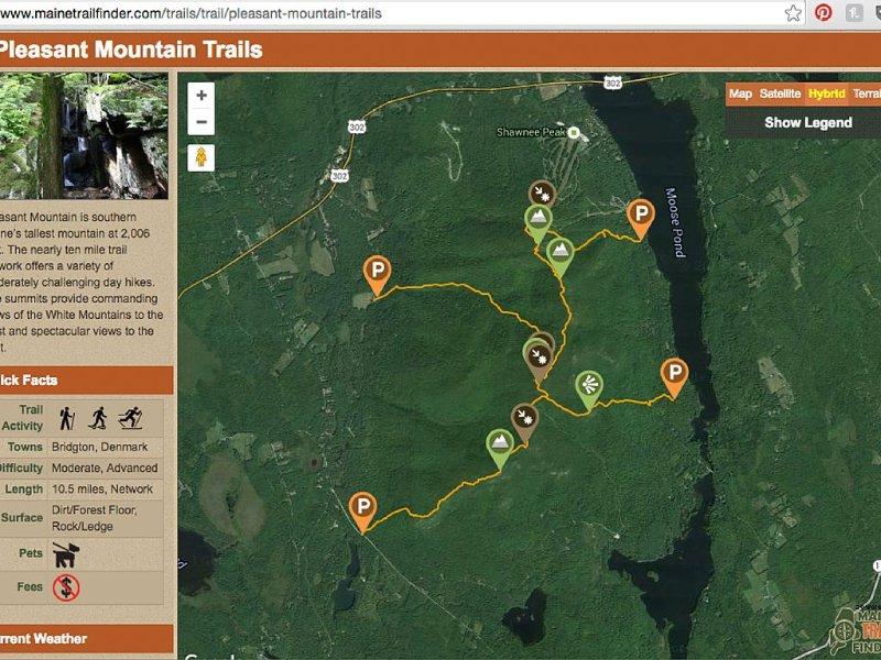 So many trails to hike!