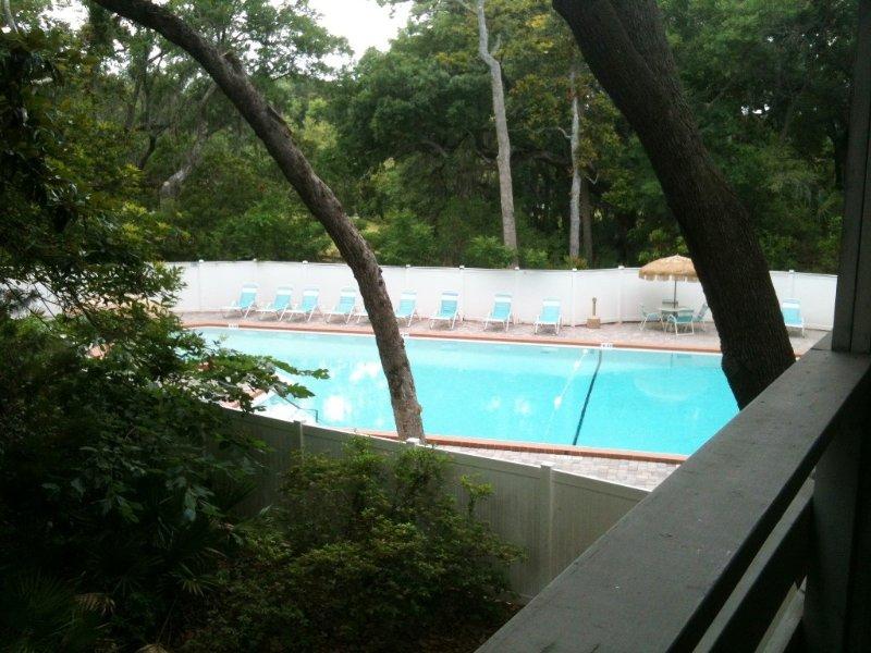 Luxury Amelia Island 2 BR / 2 Bath Condo Overlooking Pool, aluguéis de temporada em Ilha Amélia