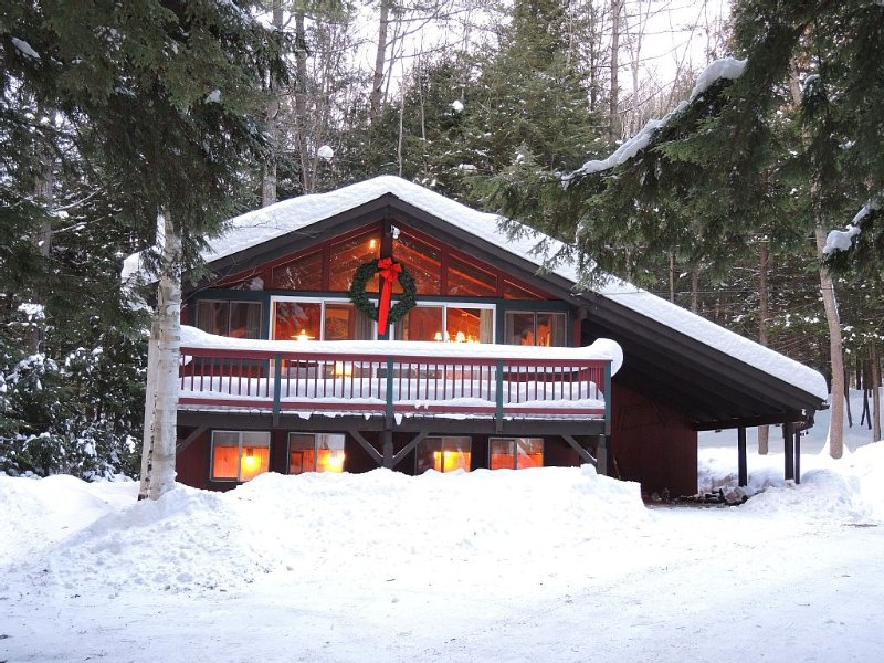 Warm, Cozy, Chalet Nestled In The Pines, WiFi, Close To Ski Areas, Attractions – semesterbostad i Hart's Location