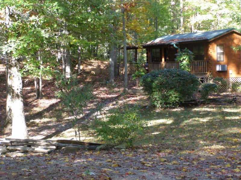 Miss Jo's...Remote Cabin with Outdoor Hot tub, vacation rental in Saluda