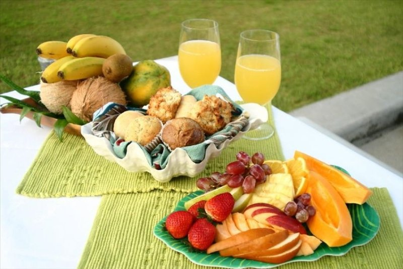 Tropical Breakfasts