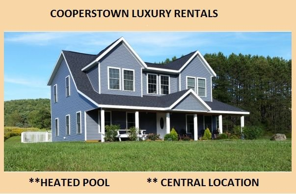 5 Bedroom Home with Heated Pool Just 4 Miles from Cooperstown and Dream's Park, vacation rental in Schuyler Lake