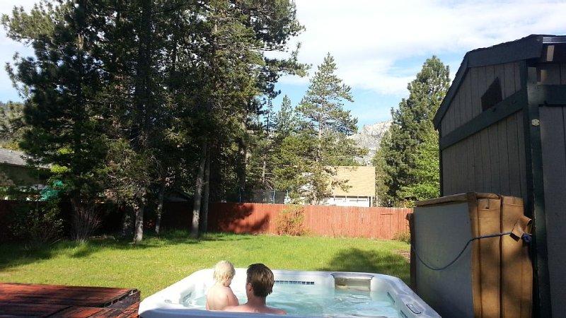 Hot tub w view, 3 BD, large enclosed yard, bright home, alquiler vacacional en Twin Bridges