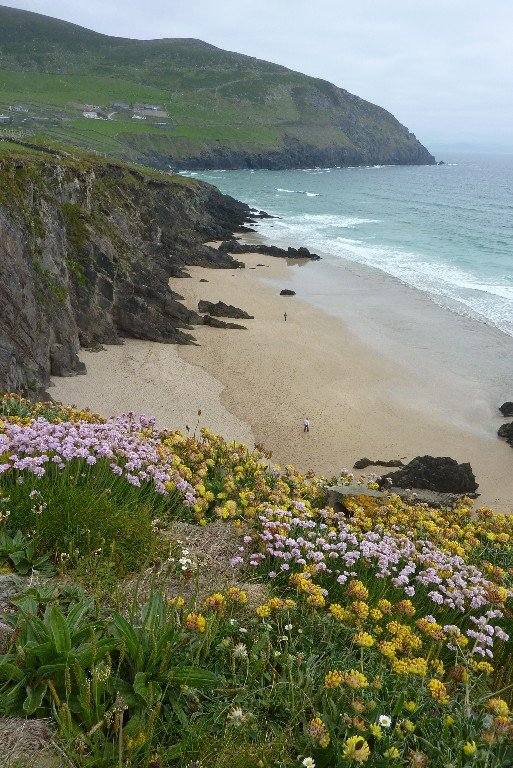 This beach on Dingle Peninsula was the setting for a 'Ryan's Daughter' scene