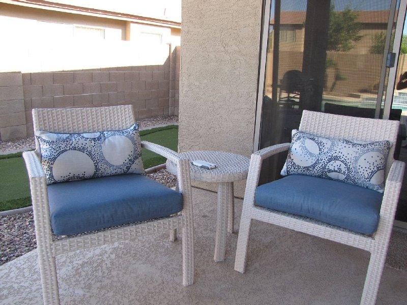 Beautiful Desert Vacation Home. Heated Pool! Close to Stadium & Wigwam Resort, vacation rental in Litchfield Park