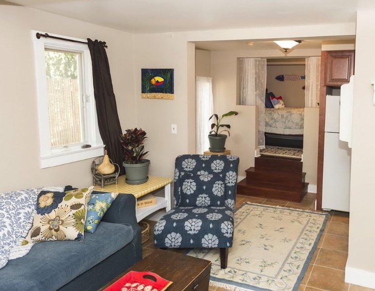 Craftsman Apartment with lots of sunny decks and patios, holiday rental in Santa Barbara