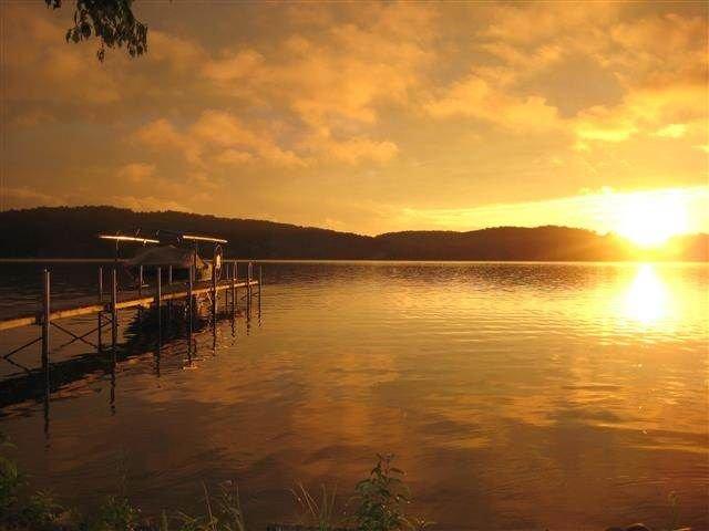 Beautiful Wallon sunset