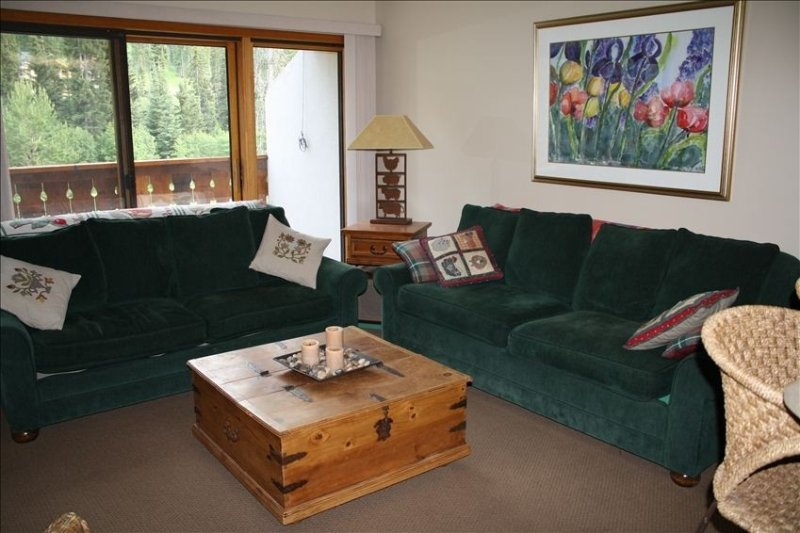 Cozy 2 BR/2A Condo at 'The Peaks'  - Close to Village and Lifts, holiday rental in Sun Peaks