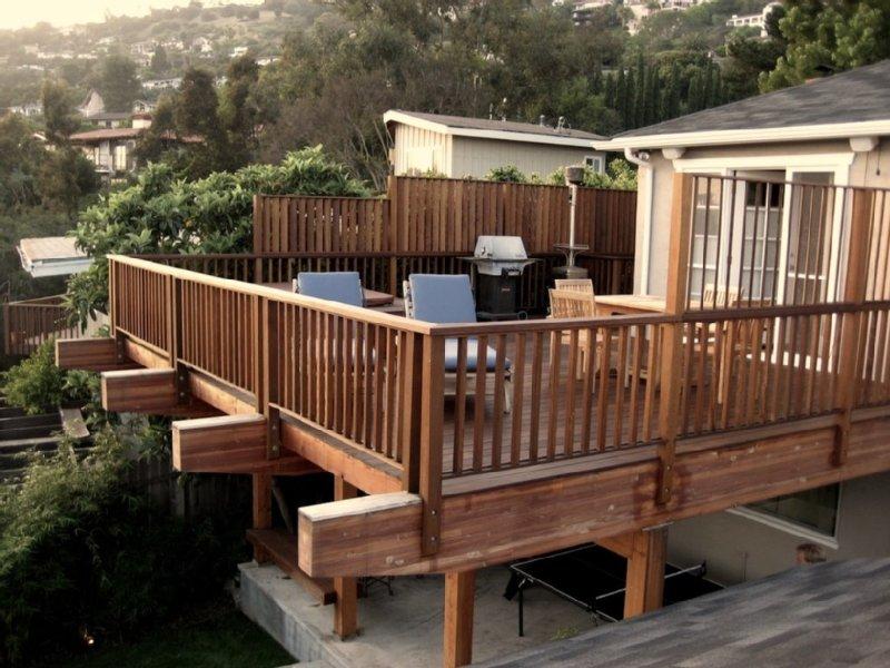 Chiquita Road - Lower Riviera pad with ocean/city views, holiday rental in Santa Barbara