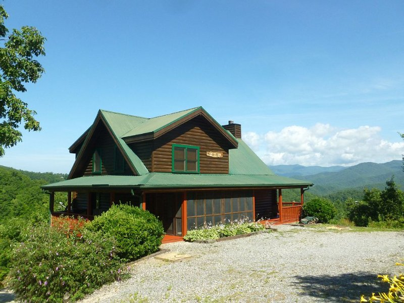 Million $$$ Views at Longview Cabin, vacation rental in Bryson City