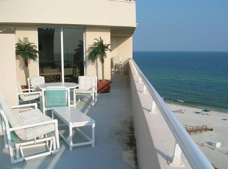 Beautiful Gulf Front Penthouse, holiday rental in Perdido Key