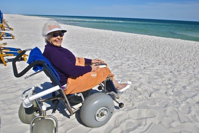 Everyone can enjoy the beach