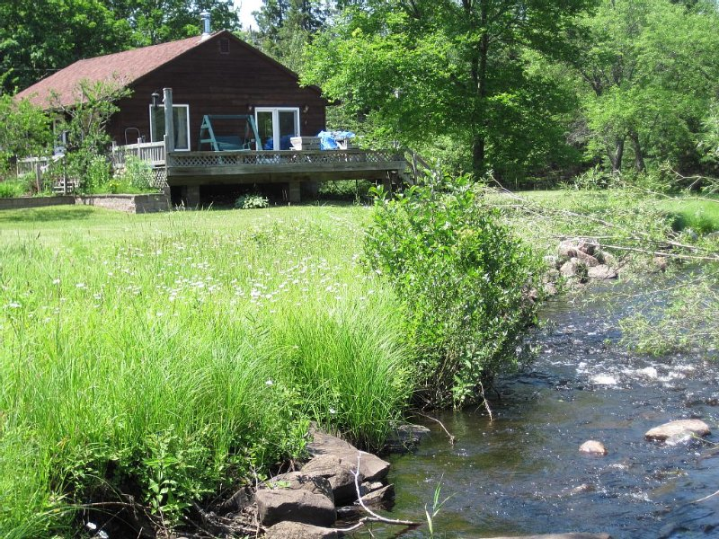 Cozy Welcoming Laughing Whitefish River Cabin Ready For Your Visit, alquiler de vacaciones en Au Train
