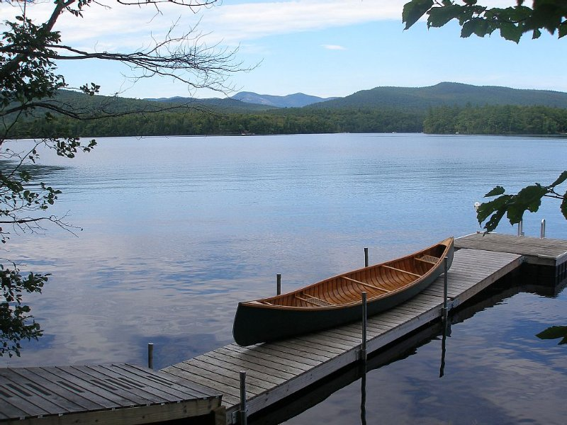 Spectacular Kezar Lake Property On Eastern Shore Of Upper Bay;white Mtn Sunsets, holiday rental in Lovell