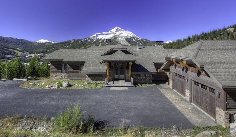 Stunning views, Luxury and Privacy in gated nature preserve, alquiler de vacaciones en Big Sky