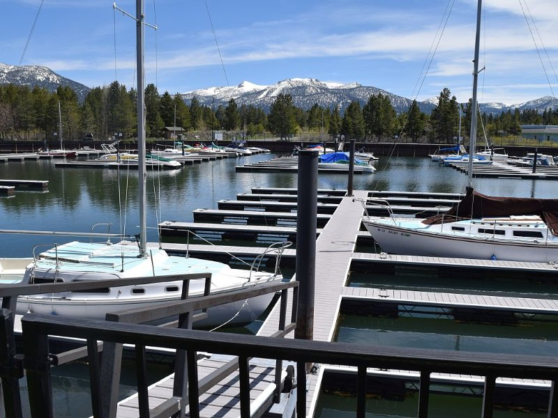 Beautiful Tahoe Keys Condo W/ Beach Access, Marina View & Boat Slip, vacation rental in South Lake Tahoe