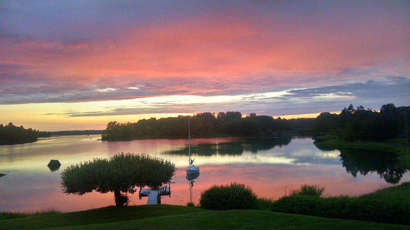 Spectacular Sunsets & Shorebirds. Great Location in Tenants Harbor., holiday rental in Cushing
