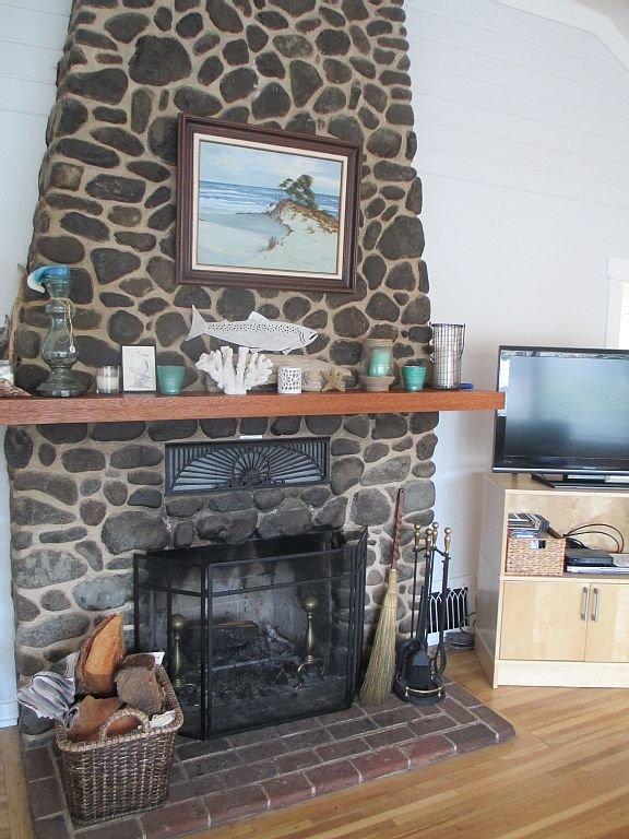 Beautiful original fireplace