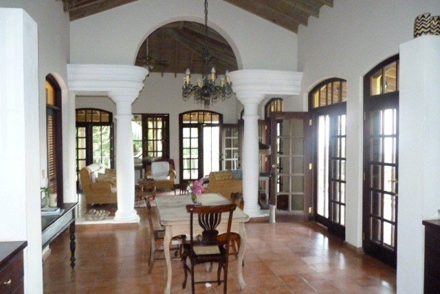 Villa with Garden and Sea View and Private Beach, vakantiewoning in Trujillo