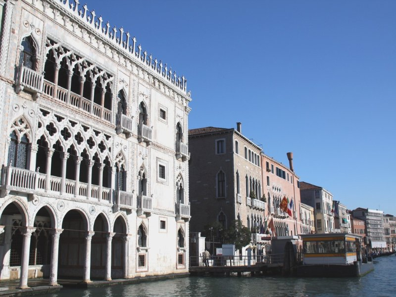 Ca'D'Oro nearest waterbus n.1 stop, one bridge only, 3 min. from Canal Grande