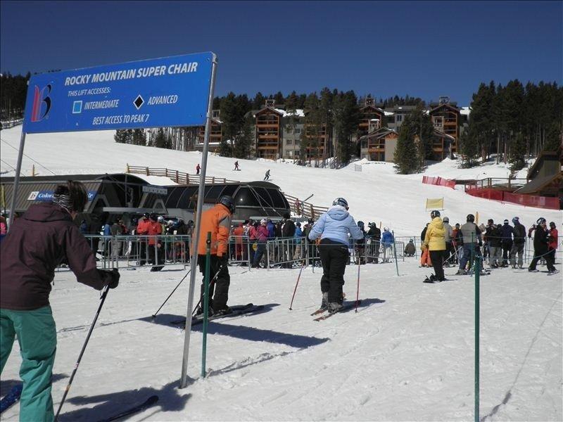 Exceptional Ski-in/Ski-Out at Breckenridge Peak 8., vacation rental in Breckenridge