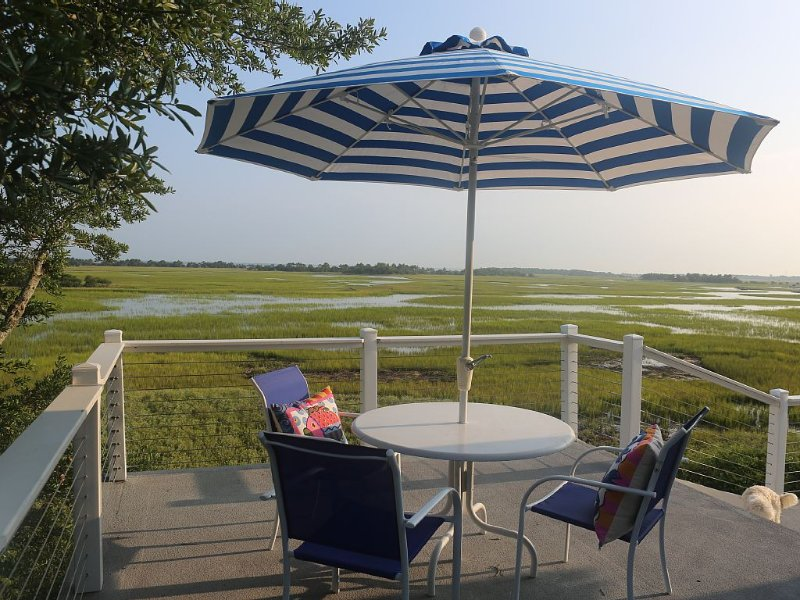 Marsh--Mellow in Wild Dunes Resort, golf cart and sportscard included!, holiday rental in Isle of Palms