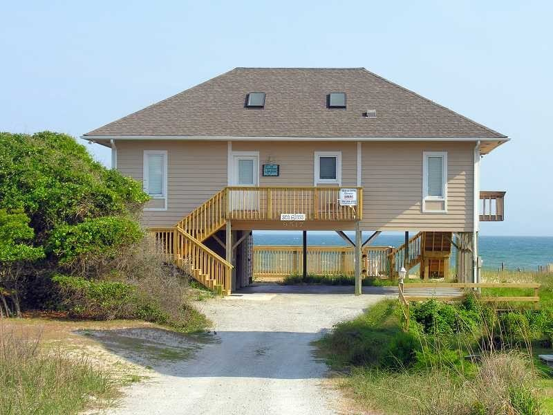 Perfect Oceanfront Cottage With Private Pool:  Se, holiday rental in Cedar Point