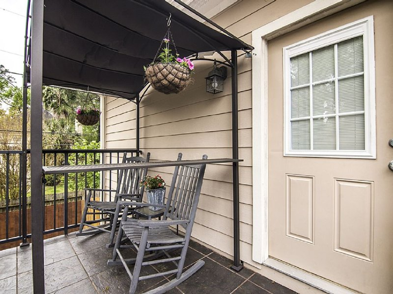 Private balcony to enjoy your morning coffee or evening glass of win