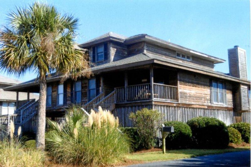 Oceanfront 4BR Duplex. Full Ocean & Marsh views. Great Rates, holiday rental in Harbor Island
