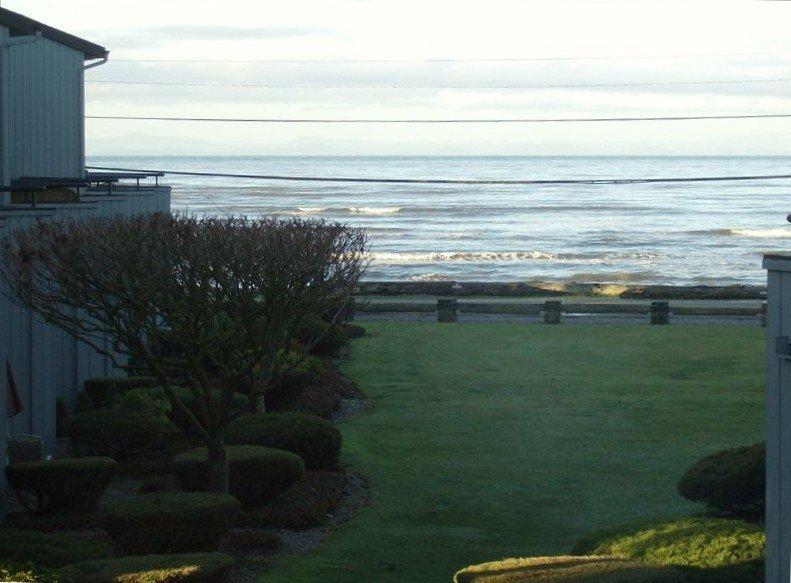High tide at Birch bay