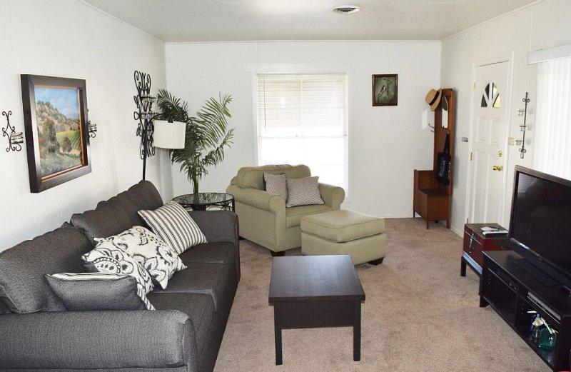 Living Room w/ Queen Sofa Bed