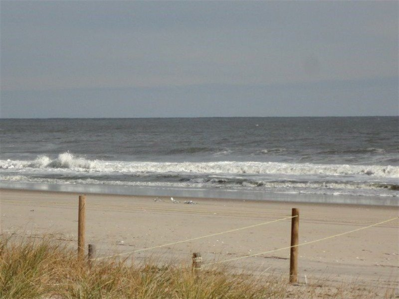 Easy walk, bike or drive to the wide, private, guarded beach.