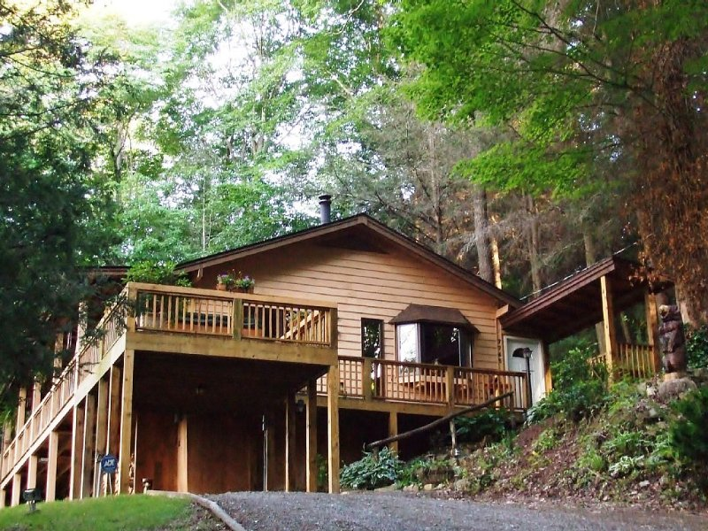Fern Hill Overlook, Fantastic Views, Hot Tub, Private setting, holiday rental in Sugar Grove